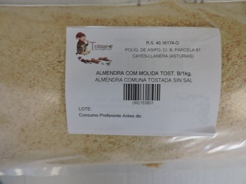 ALMENDRA COM MOLIDA TOSTADA