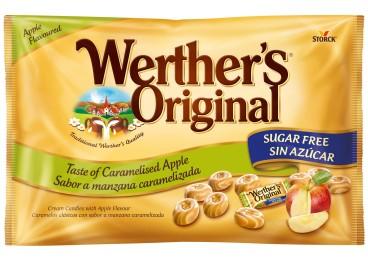 Werther's Original yellow apple sugar free bag 1000g