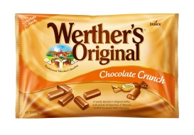 WO Chocolate Crunch, bag, 1000 g