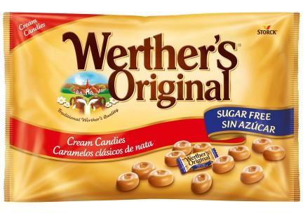 Werther's Original sugar free bag 1000g